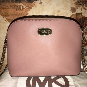 Michael Kors Dusty Rose Cindy Crossbody